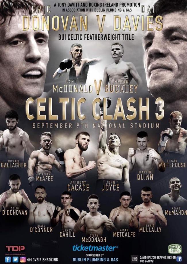 celtic clash 3. poster